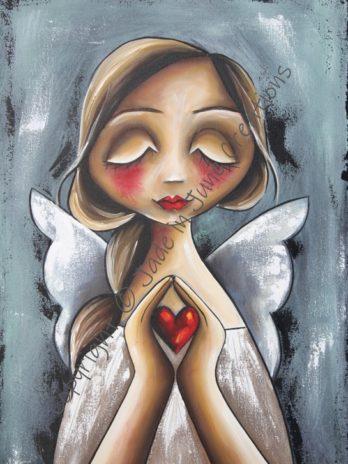 Angel HoldingHeart