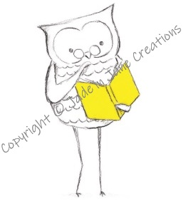 Magnetic Bookmark Owl Yellow Book